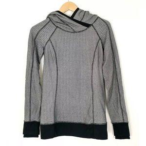 Lululemon 'Think Fast' herringbone pullover size 4